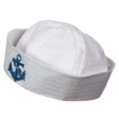 Doughboy Sailor Hat with Emblem